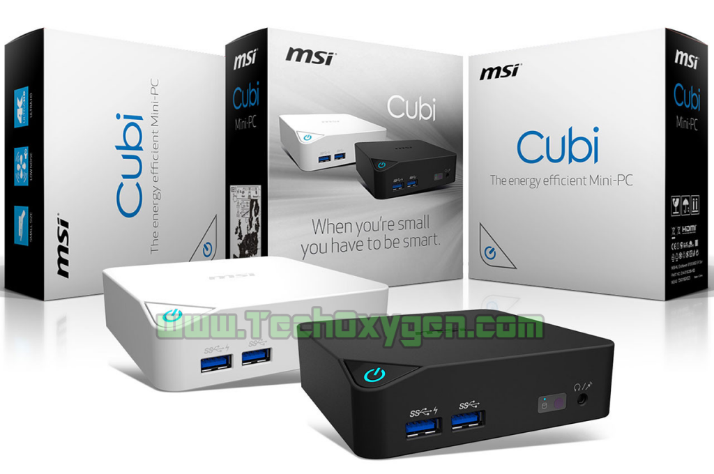 MSI LAUNCHES Cubi Its NEW Cool MINI-PC