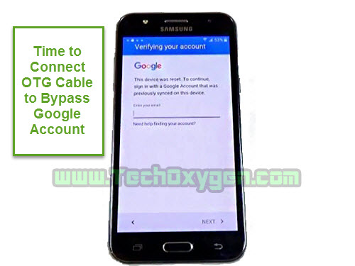 Samsung Galaxy J5 J500F - How to bypass Google account OTG