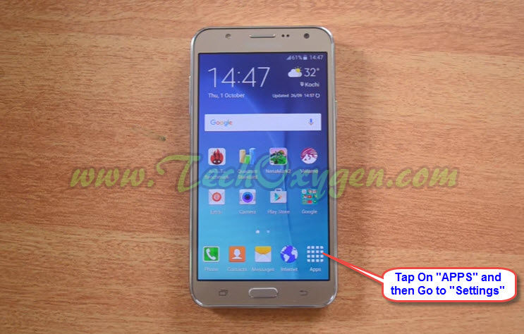 Reset Samsung Galaxy J7 - Soft Reset and Hard Reset