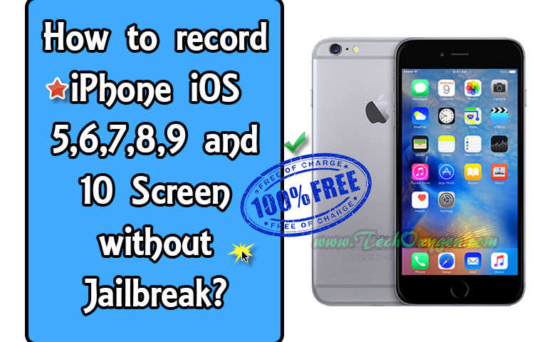 Record iPhone Screen with AirShou App, How to record your iPhone's Screen without Jailbreak? 2016