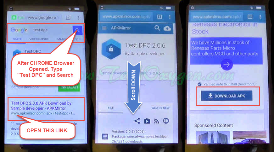 BYPASS GOOGLE Account on Lenovo Vibe A, B, C, C2, K6, Phab 2 FRP