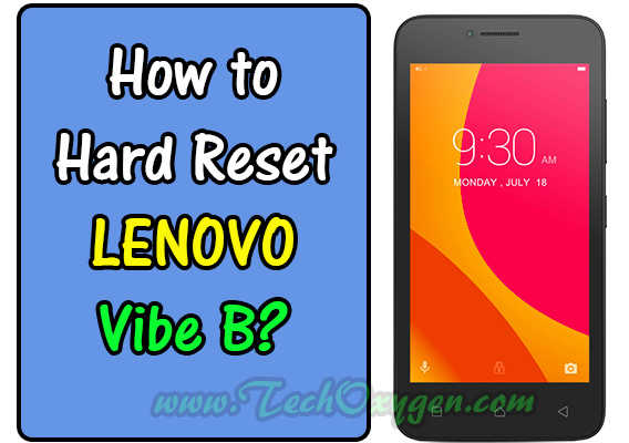 LENOVO VIBE B A2016a40: How to Hard Reset to Factory Settings 2016