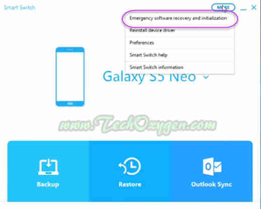 How to install firmware in samsung s5 neo
