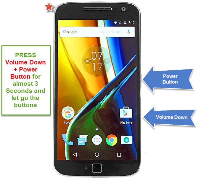 7 Easy Steps to Hard Rest Motorola Moto G4 Plus From Recovery Mode:, How to hard reset moto g4 plus