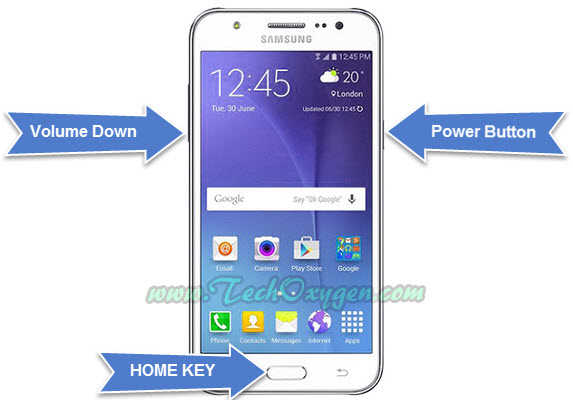 Downgrade Samsung Galaxy J500H Android Marshmallow to