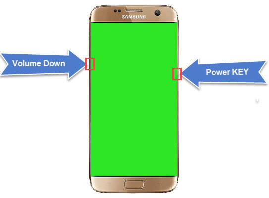 """How To Fix """"Green Screen Display"""" Problem For All Samsung"""