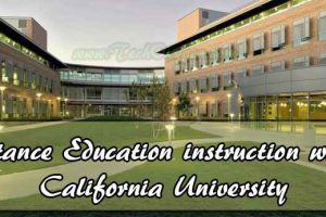 Distance Education Degree In University Of California USA