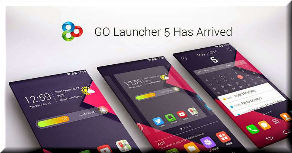 GO Launcher 2.29 (587) APK Latest Version Download - 2017