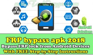 FRP Bypass APK 2018 Download Free [PRO VERSION 100% TESTED]
