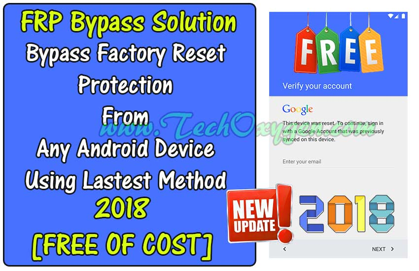 [Updated] Samsung FRP Bypass Solution - Unlock FRP lock 2018
