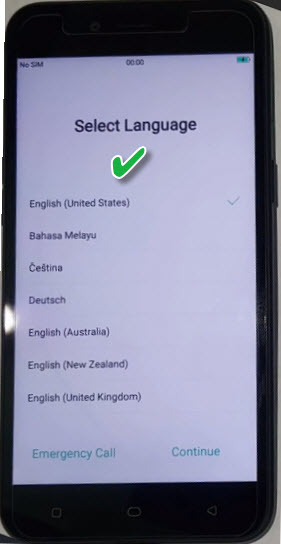 Initial Setup of Oppo A7 2018 Phone After flashing