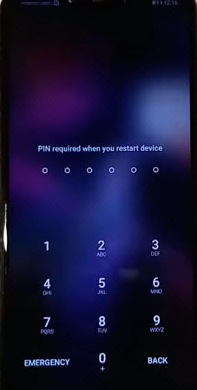 PIN Code Password For Huawei Mate 20 lite