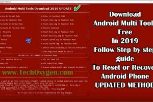 Android Multi Tools Download for PC Latest Version V3.0 2019