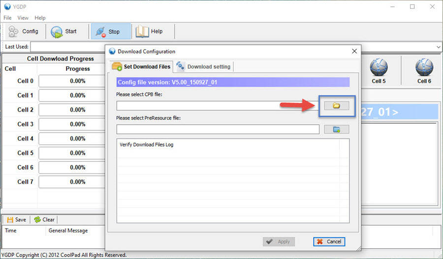 YGDB Flash Tool Flash File Download and Upload