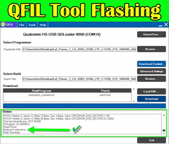 QFIL Tool Download All Version (Qualcomm Flash Image Loader Tool)