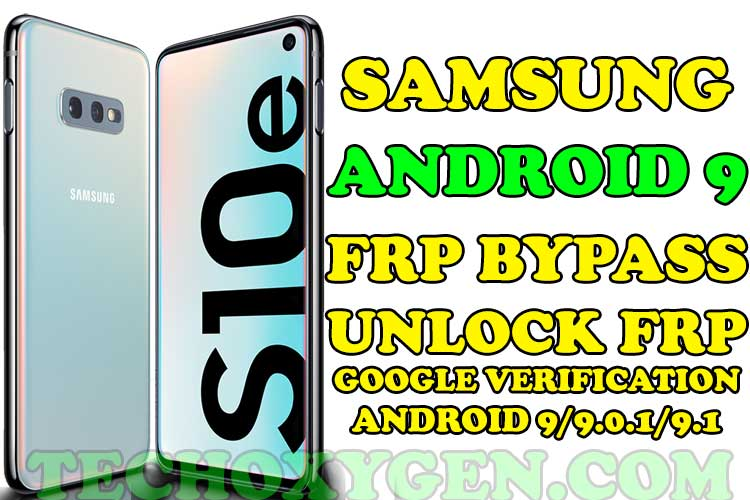 Samsung Android 9 FRP Bypass [Complete Method 2020]