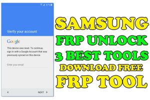 Samsung FRP Unlock Tool Download [3 FREE FRP Unlock Tools]