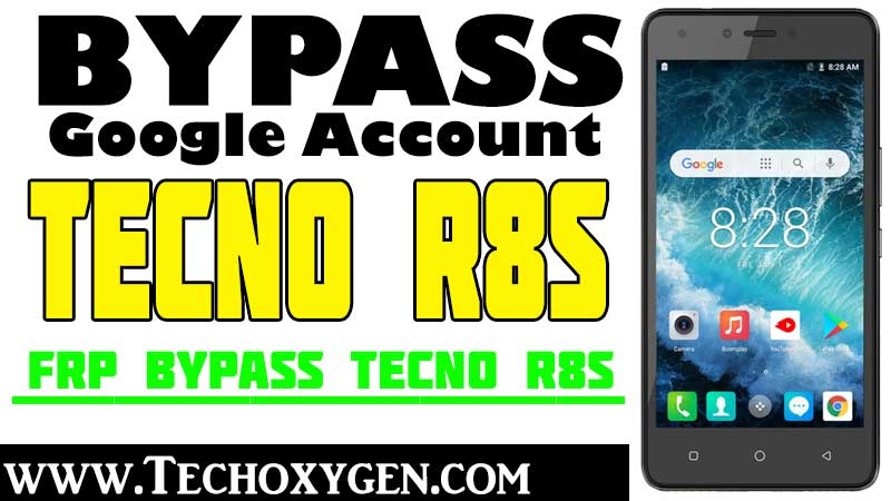 TECNO R8S FRP Bypass Google Account Unlock FRP Without PC