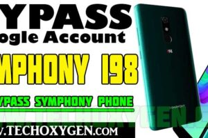 Symphony i98 FRP bypass Google account verification