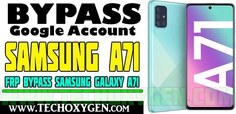 Samsung A71 FRP Bypass (Remove Google Account Android 10 2021)