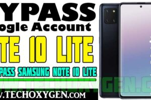 Samsung Note 10 Lite FRP Bypass Without PC, SIM Android 11 2021