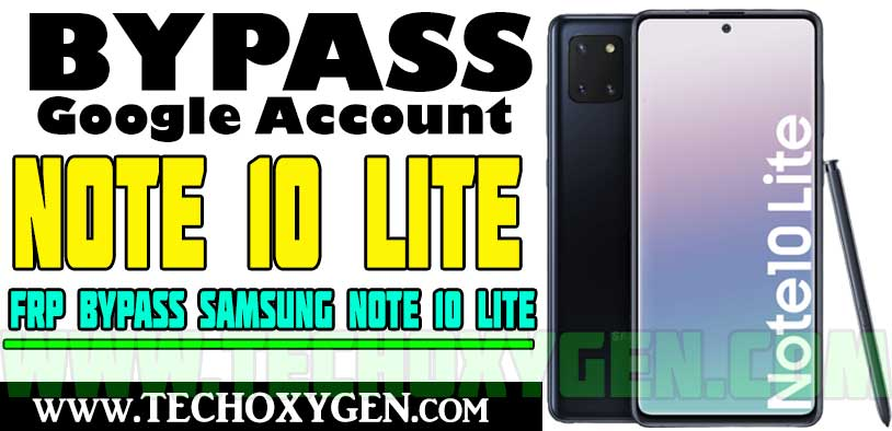 Samsung Note 10 Lite FRP Bypass Without SIM Card [Android 11 2021]