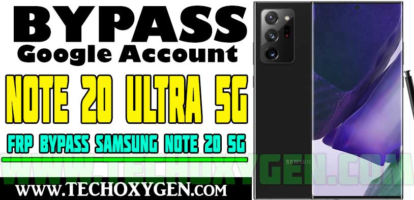 Samsung Note 20 Ultra FRP bypass Without PC Google Account Unlock